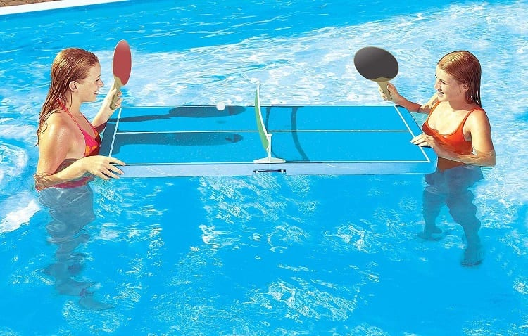 Floating Tennis Table